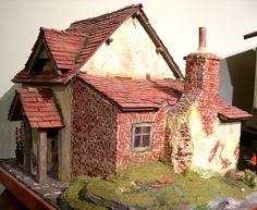 Miniatures. Weberhaus by Eifel Minis