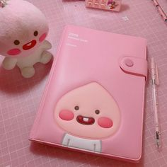 *₊˚ ℓιкє тнιѕ ρι¢? fσℓℓσω мє fσя мσяє *₊˚ Cute Pink, Pretty In Pink, Apeach Kakao, Chibi, Peach Aesthetic, Cute Stationery, Stationary, Cute School Supplies, Line Friends
