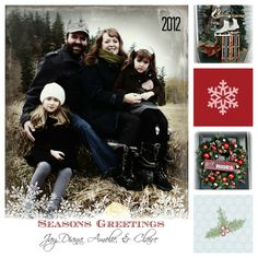 Christmas Card for 2012 made with PicMonkey Photoshop Elements, Photo Editor, Pic Monkey, Christmas Cards, Projects To Try, Printables, Seasons, Xmas Ideas, Holiday