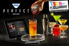 Perfect Drink App-Controlled Smart Bartending - Buy Direct - As Seen On TV - Make Hundreds of drinks perfectly like a pro bartender! Impress your friends and become a famous mixologist overnight! Works with Iphone and Android smartphones and tablets. Awarded Coolest Product at Tech Awards 2014!: Amazon.ca: Cell Phones & Accessories