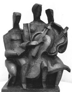Trio Musical by Ossip Zadkine √