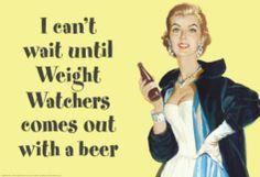 Weight Watchers Beer!
