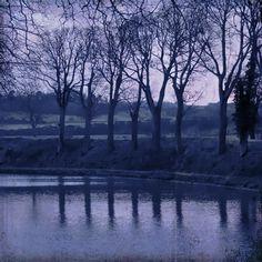 Canal du Midi at Dusk, France
