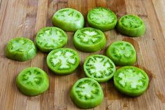 Kalyn's Kitchen®: Oven-Fried Green Tomatoes with Sriracha-Ranch Dipping Sauce (Gluten-Free, Low-Carb, Phase One)