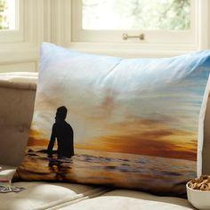 Surfer Sunset Photo Real Sham  $25.00 SALE $14.99