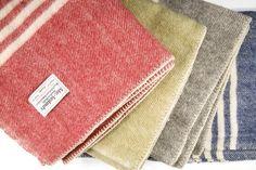 MacAusland woolen blankets #textiles #wool #blanket