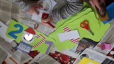 ...Το Νηπιαγωγείο μ' αρέσει πιο πολύ.: Ημερολόγιο για το 2018 Christmas Crafts, Handmade Christmas Crafts