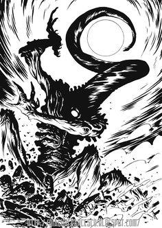 375th Avatar of Nyarlathotep by francesco-biagini.deviantart.com on @deviantART