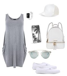 """smokey"" by pam-gavieres-ziegenhohn ❤ liked on Polyvore featuring Michael Kors, Vans, BCBGeneration, Zero Gravity and Christian Dior"