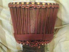 Djembe in legno kolokolo per djembefolà