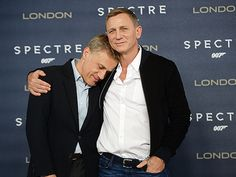 Daniel Craig and Christoph Waltz at event of Spectre Rachel Weisz, Celebrity Gossip, Celebrity Crush, Spectre 2015, Daniel Graig, Daniel Craig James Bond, Christoph Waltz, Best Bond, Favorite Movie Quotes