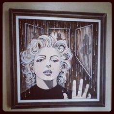 Marilyn Chooses-painting by Pamela Henry