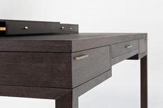 Scrivania moderna / in legno - CENTENAIRE - Olivier Dollé