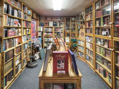 Located in a small cottage off of the Sunset Strip, Mystery Pier Books offers a vast collection of collectible first edition literature.