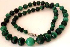 Jade Beaded Strand Necklace | eBay