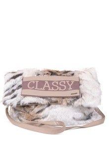 P....S....fashion - Eco fur bag  TORBA OD EKO KRZNA