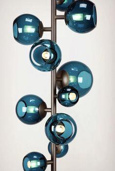 Lamp blue http://roomdecorideas.eu/