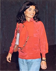 Jackie O..even casually dressed......there was something mezmerizing about her presence...