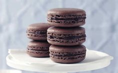 Macarons au chocolat avec thermomix