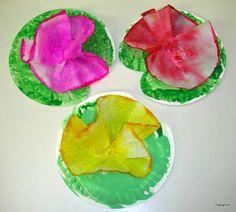 pond animal kindergarten theme | Water Lilies | Life at the Pond (Preschool Theme)