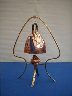 Art Nouveau WMF Copper Kettle Burner on Brass Stand Jugendstil Germany | eBay
