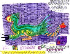 Jurassic World: The Game -Shunozinosaurus (Collab) by DinoBrian47 on DeviantArt