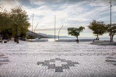 Gallery of Albanian Carpet / Casanova + Hernandez Architects - 2 White Granite, Granite Stone, Floor Patterns, Fishing Villages, Large Homes, Public, Urban Planning, Pavement, Playground