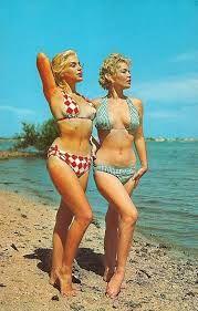 Risultati immagini per 60's summer postcards