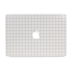 Grid Print MacBook Case