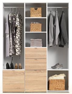 Trend Wardrobe NAUTRUP doors white oak JYSK Need to check delivery cost