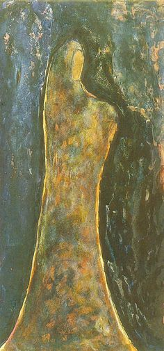 Standing Figure by Rabindranath Tagore