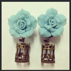 Carnival Rose Ear Plugs must have these! :-)