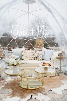 Winter white wedding ideas inspired by an ice storm - 100 Layer Cake Blue Wedding, Fall Wedding, Wedding Colors, Wedding Reception, Wedding Pastel, Wedding Knot, Seaside Wedding, Wedding Vows, Wedding Venues