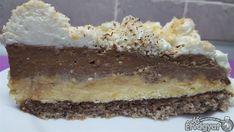 Csokis-vaníliás torta Nutella, Tiramisu, Sweets, Ethnic Recipes, Food, Gummi Candy, Candy, Essen, Goodies