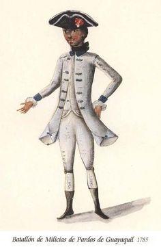 Batallón de Milicias de Pardos de Guayaquil 1785