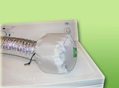 The Dryernet is a system that saves the heat from your dryer and releases it into your house during the cold winter months. Depending on how much the clothes dryer is used, an average family of four could save about $20.00 per month on their heating bill. Only to be used on electric dryers.