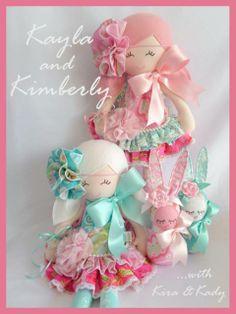 Miss Kayla & Miss Kimberley by Trellis Design Dolls