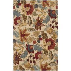 Safavieh Handmade Jardin Beige/ Multi Wool Rug (9' x 12') | Overstock.com Shopping - Great Deals on Safavieh 7x9 - 10x14 Rugs