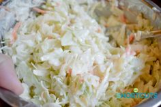 Skip the store bought stuff! If you are making coleslaw this Homemade Coleslaw Dressing Recipe is one of the best!