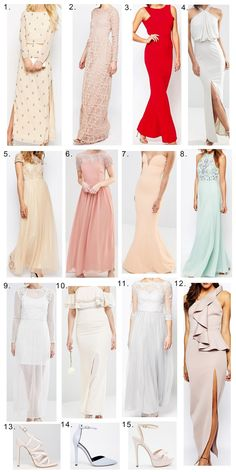 Charlotte Lane ♡: Prom Outfit Ideas #2 | Maxi Dresses & Shoes ♡