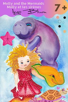 All over the world developing their kids at early stages is always loved. One of the ways to develop good habits in kids is storytelling. Molly the sea cow just wants to have her tummy tickled in a field of corals. With her friend Rufus the stingray, she sets off on an exciting adventure. On their way through the ocean, they meet Paula the mermaid. A real mermaid? What a wonderful company! #bedtimestory #storybook #kidsstorybook #childernstorybook #bedtimestories #kidlitrat #cuteillustration Sea Cow, Bedtime Reading, Real Mermaids, Kids Story Books, Being In The World, Chapter Books, Children's Literature, Bedtime Stories, One And Other