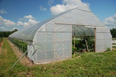 Stonewall Hill Farms in Stephentown, NY uses a Rimol Greenhouse Systems High Tunnel to grow fruits and vegetables