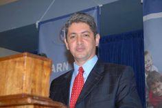 O embaixador de Israel no Brasil, Reda Mansour, participou hoje (28) de inauguração da empresa israelense Tama, em Feira de Santana (BA).