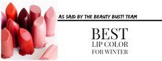 BEAUTY: Best Winter Lip, Beauty Bust!