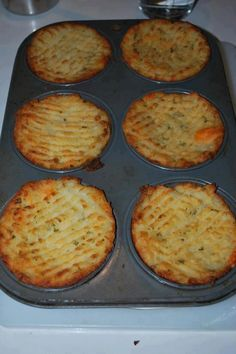 Mashed potato cupcakes add your own ingredients