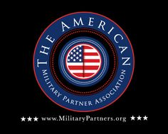 Patriotic logo design for The American Military Partner Association by The Logo Boutique Best Logo Design, Custom Logo Design, Custom Logos, Round Logo, Round Design, Bmw Logo, Cool Logo, Chicago Cubs Logo, Military