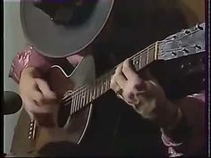 Stevie Ray Vaughan Acoustic Guitar Solo - rare video of Stevie doing what he does best: playin' the blues