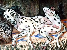 MOLD da DOG...OIL by JRB Giraffe, Paintings, Oil, Brown, Animals, Animales, Paint, Animaux, Painting Art