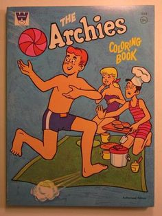 The Archies Coloring Book ~ loved 'em