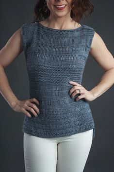Der Neuen Stricken : Free for a Limited Time Knitting Pattern for Cumulus Top